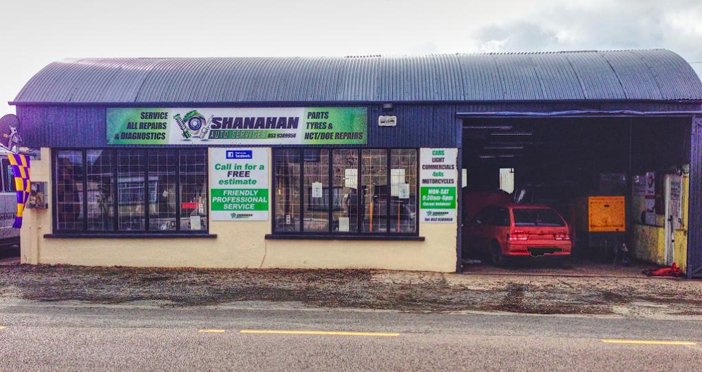 Shanahan Auto Gorey Wexford Shop Image