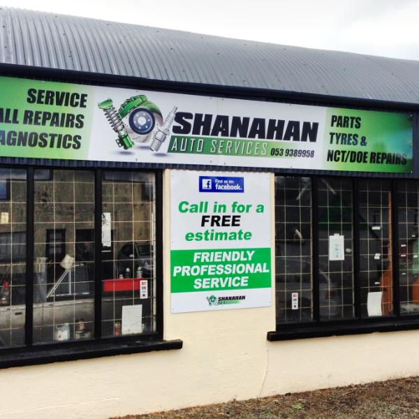 Shanahan Auto Services Gorey Wexford Shop Image